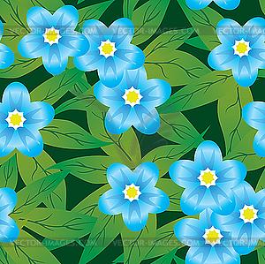 Blumen-Hintergrund. - Royalty-Free Vektor-Clipart