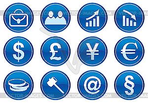 Icons für Gadget - Vektorabbildung