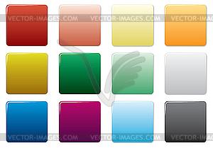 Farbige Tasten. - vektorisiertes Clip-Art