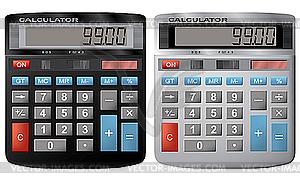 Taschenrechner. - Vector-Bild