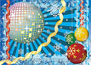 Winter-Party - Vector-Clipart / Vektor-Bild