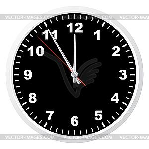 Büro-Uhr - Vektor-Clipart EPS