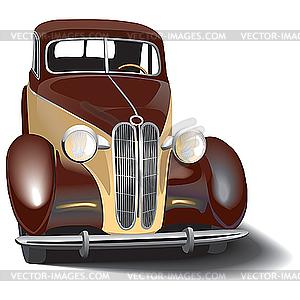 Retro Auto - Vektor-Clipart / Vektor-Bild