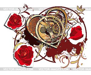 Zeit für Liebe - Vektor-Clipart / Vektor-Bild