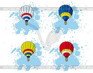 Heißluftballon - Vector-Bild