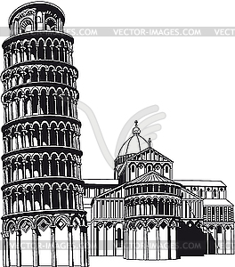 Campo dei Miracoli - Royalty-Free Vektor-Clipart