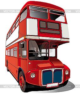Doppeldecker-Bus - Vektor-Clipart / Vektorgrafik