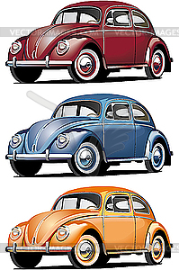 Altes Auto - Vector Clip Art