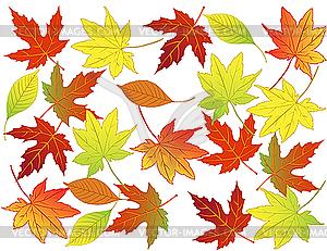 Herbst-Hintergrund - Vector-Design