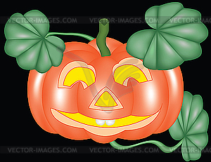 Kürbis für Halloween - Vector-Bild