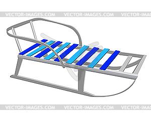 Kinder-Schlitten - Vektorgrafik-Design