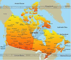 Kanada - Vektor-Clipart / Vektor-Bild
