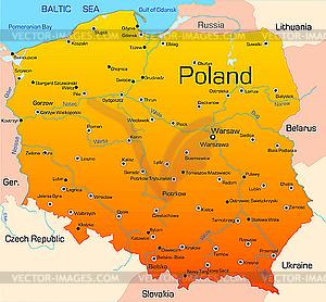 Polen - vektorisiertes Clipart