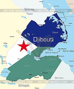Dschibuti - Klipart