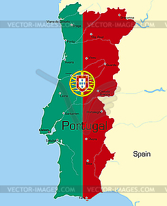 Portugal - Stock-Clipart
