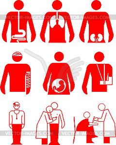Медицинские знаки - рисунок в векторе: vector-images.com/clipart/clp35438/?lang=rus