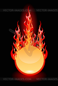 Feuer - Royalty-Free Clipart