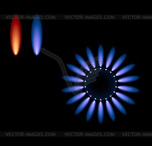 Gasherd - Vektor-Clipart EPS