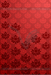 Vertikales rotes Glamour-Muster - Vector-Clipart