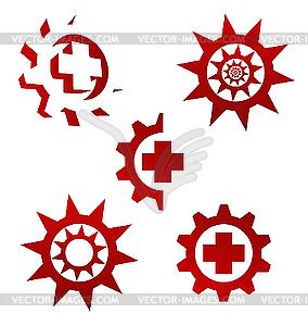 Elemente für Logo-Design - Vektor Clip Art