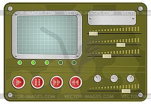 Militär-Skin für Player - Vector-Clipart EPS