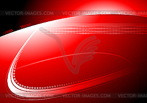 Roter abstrakter Hintergrund - Vektorgrafik-Design