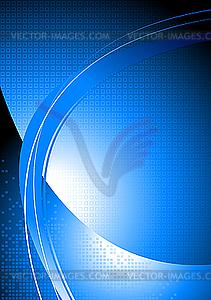 Heller abstrakter blauer Hintergrund - Vektor-Design
