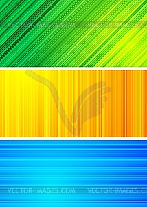 Einfache abstrakte Banner - Vektor-Bild