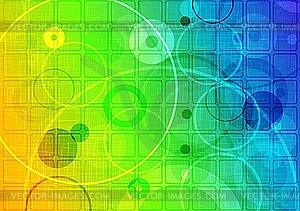 Abstrakter bunter Hintergrund - Vektor-Clipart / Vektorgrafik