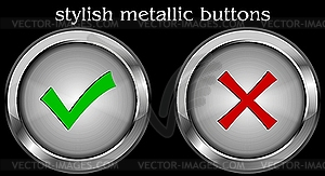 Web-Buttons - Vektor-Bild