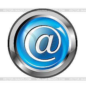 E-mail Web-Button - Vector-Illustration