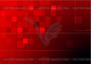 Dunkler technischer Hintergrund - Vektor-Bild