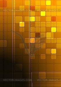 Dunkler technischer Hintergrund - Vector-Clipart