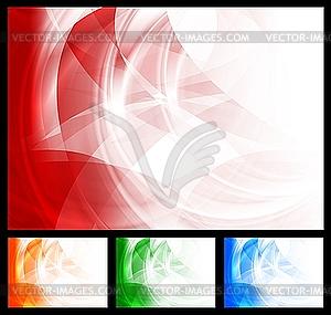 Bunte stilvolle Hintergründe - Vector-Clipart EPS