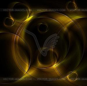 Hintergrund mit Ringen - Vektor-Clipart EPS