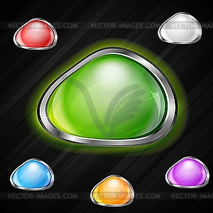 Web Buttons - Vektorabbildung
