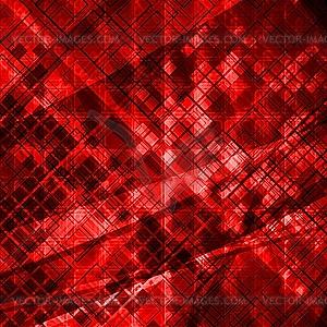 Rotes Grunge-Design - Vektor-Illustration