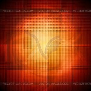 Leuchtendes orangefarbenes Design - Stock Vektorgrafik