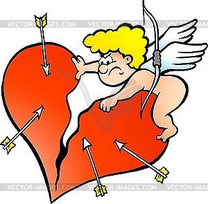 Böser Amor - Vektorgrafik