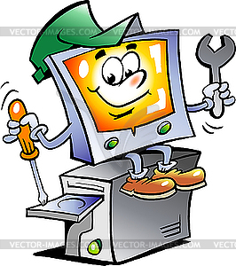 Computer-Reparateur - Vector-Design