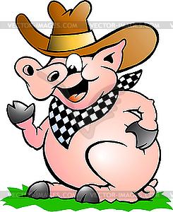 Chef-Schwein - Vektor-Bild