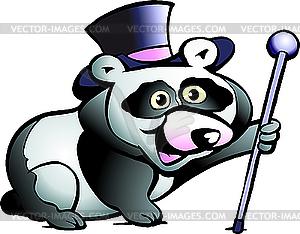 Panda-Bär - Royalty-Free Clipart