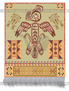 Native American Eagle- - Vector-Design