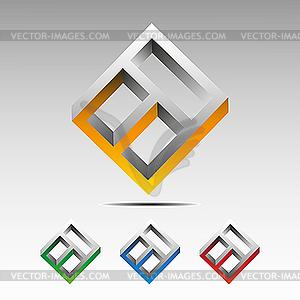 Stilisiertes Fenster - vektorisierte Grafik
