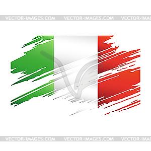 Flagge von Italien - vektorisiertes Clip-Art