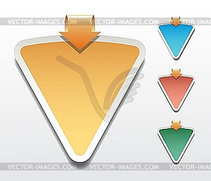 Sticker - vector clip art