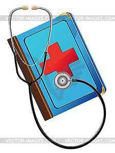 Medical Books Clipart