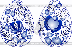 Eier Ostern - Vector-Design