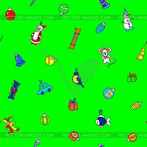 Weihnachten Muster - Royalty-Free Vektor-Clipart