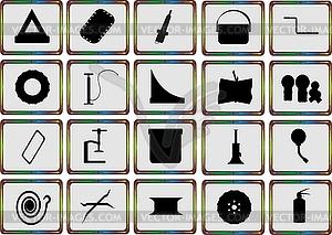 Ersatzteile für das Auto - Royalty-Free Clipart